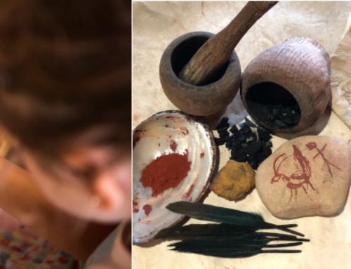 Per Setmana Santa, pauma i art rupestre