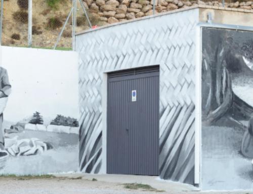 Un mural que apel·la la memòria col·lectiva